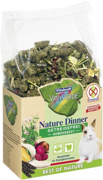 Vitakraft Vita Verde Nature Dinner Gemüsebeet für Zwergkaninchen