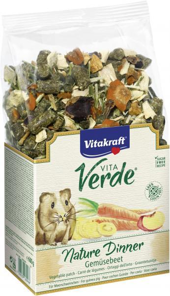 Vitakraft Vita Verde Nature Dinner Meerschweinchen Gemüsebeet