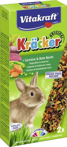 Vitakraft Zwergkanninchen Kräcker Gemüse & Rote Beete