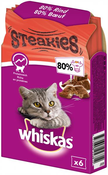 Whiskas Steakies Rind