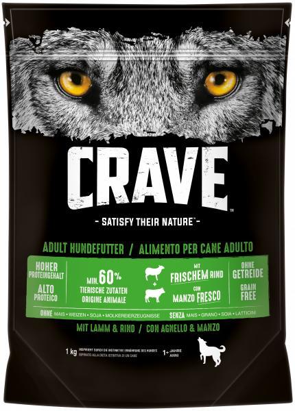 Crave Hundfutter mit Lamm & Rind