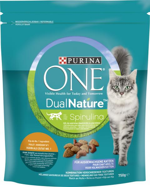 Purina One Dual Nature Spirulina mit Huhn