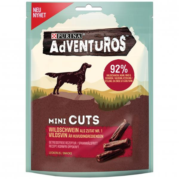 Purina Adventuros Mini Cuts Wildschwein