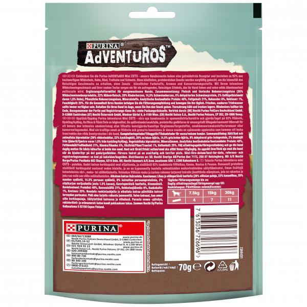 Purina Adventuros Mini Cuts Wildschwein