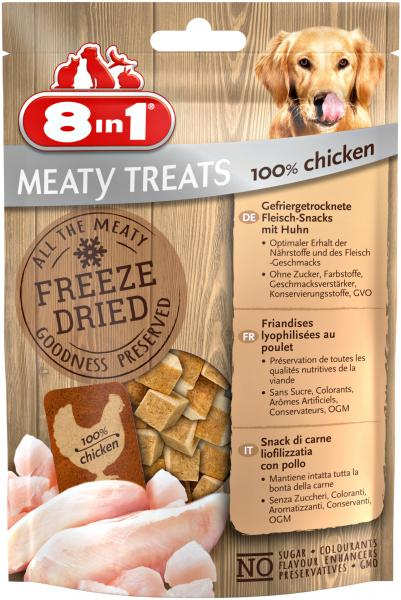 8in1 Meaty Treats mit 100% Huhn