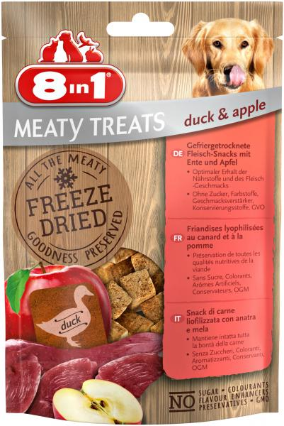8in1 Meaty Treats mit Ente & Apfel