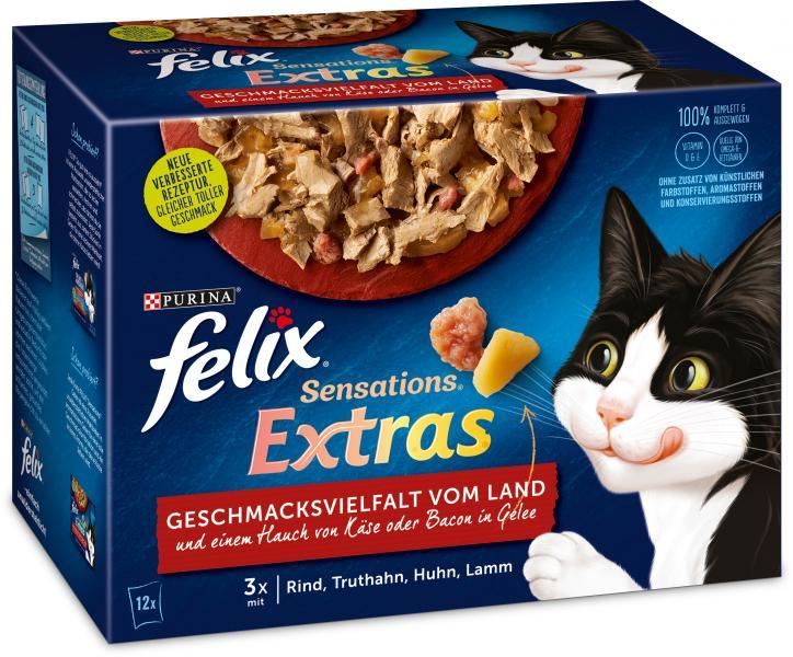 Felix Sensations Extras Geschmacksvielfalt vom Land