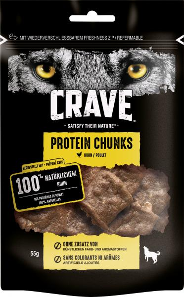 Crave Hund Protein Chunks mit Huhn