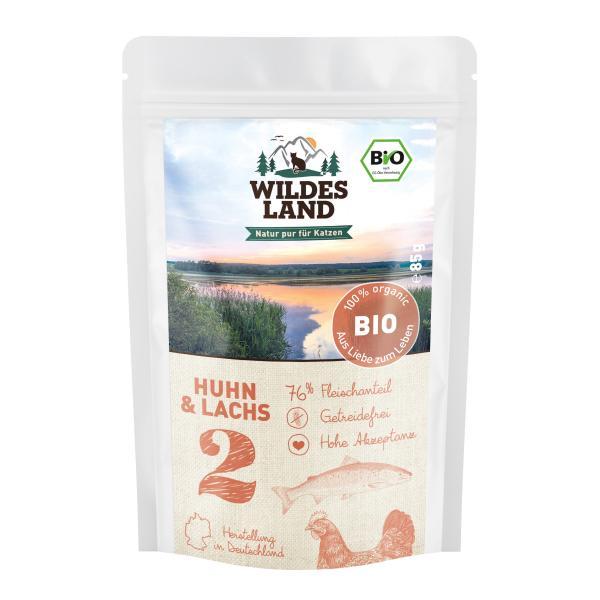 Wildes Land Katze Nr. 2 Bio Huhn und Lachs