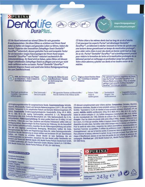 Purina Dentalife Duraplus Large