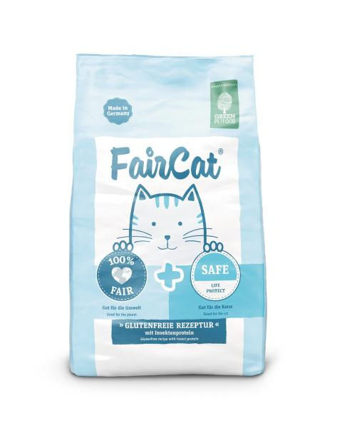 Green Petfood FairCat Safe Life Protect mit Insektenprotein
