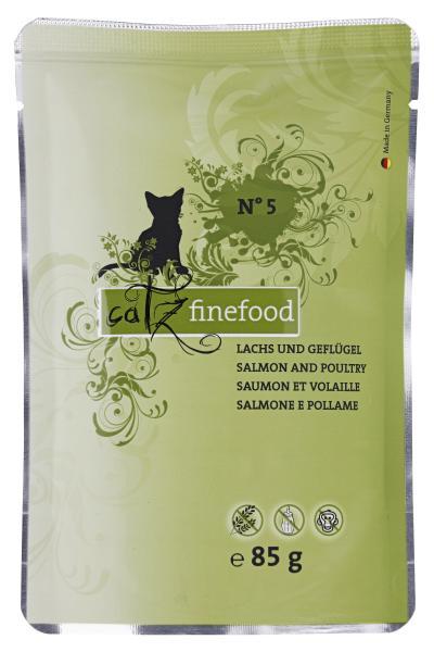 Catz finefood No. 5 Lachs & Geflügel