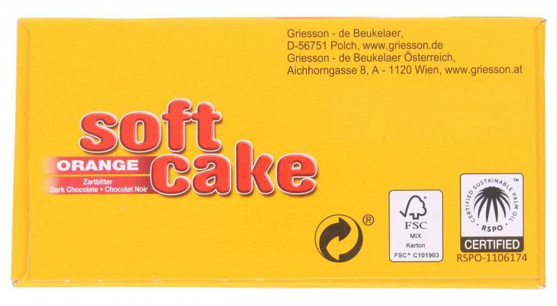 Griesson Soft Cake Orange zartbitter