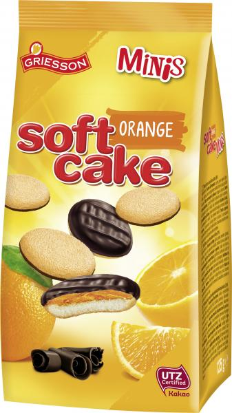 Griesson Soft Cake Minis Orange