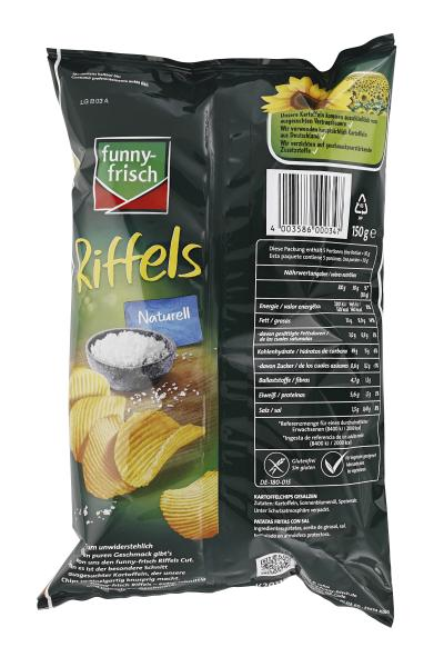 Funny-frisch Riffels naturell
