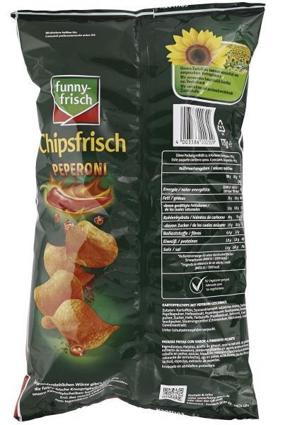 Funny-frisch Chipsfrisch Peperoni