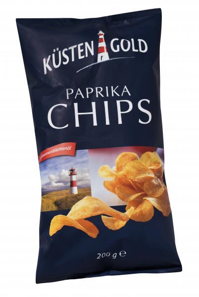 Küstengold Paprika Chips
