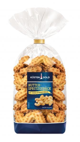 Küstengold Butter Spritzgebäck