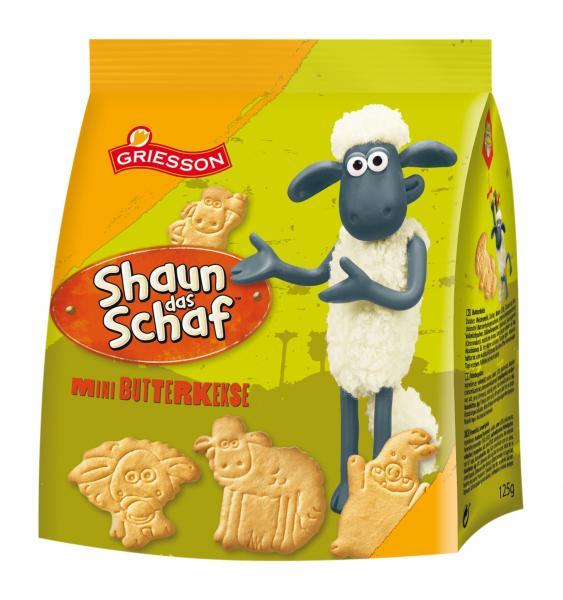 Griesson Shaun das Schaf Mini Butterkeks