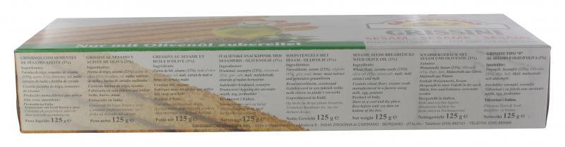 Granforno Grissini Sesam Italienisches Knabbergebäck