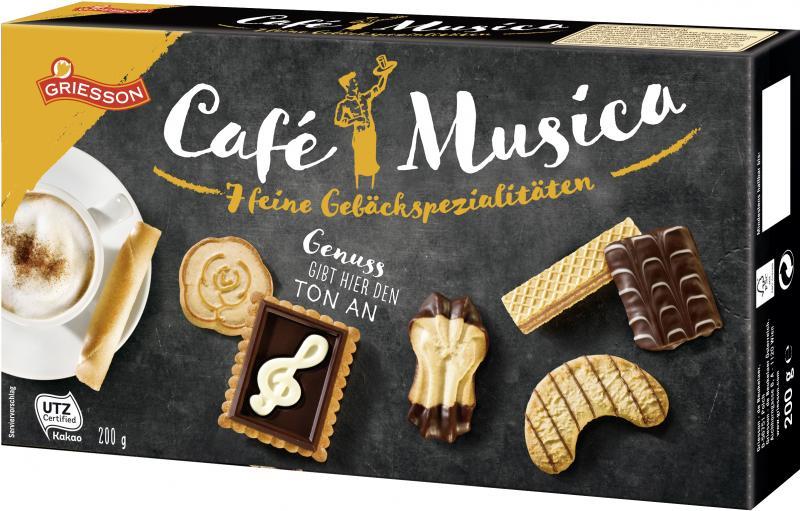 Griesson Café Musica Gebäckspezialitäten