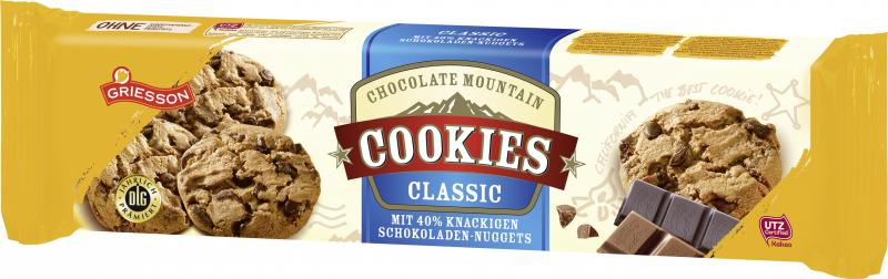 Griesson Chocolate Mountain Cookies classic