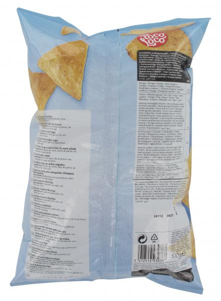 Poco Loco Lightly Salted Tortilla Chips