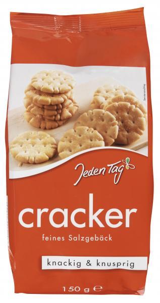 Jeden Tag Cracker feines Salzgebäck