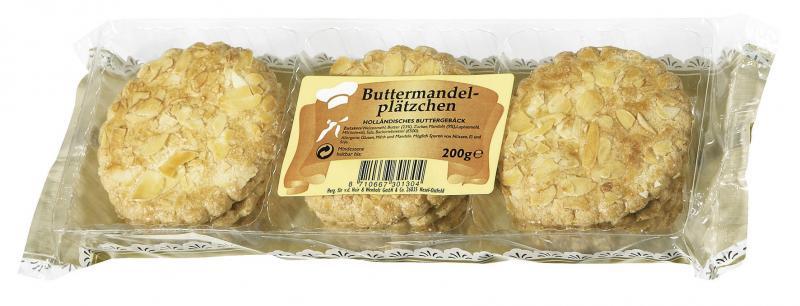 Van Der Huir & Wenholt Buttermandelplätzchen