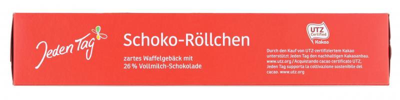 Jeden Tag Schoko-Röllchen Vollmilch