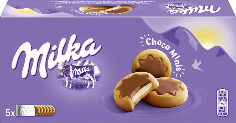 Milka Kekse Choco Minis