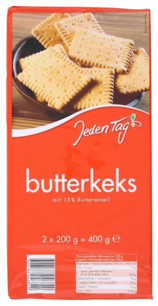 Jeden Tag Butterkeks