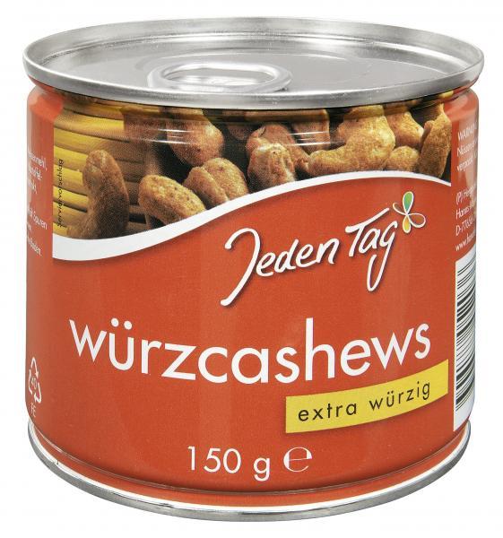 Jeden Tag Würz-Cashews