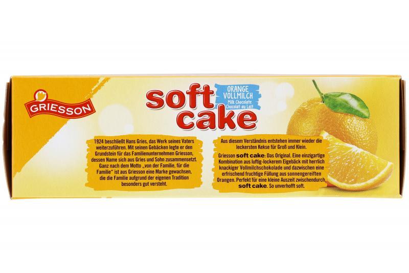 Griesson Soft Cake Vollmilchschokolade Orange