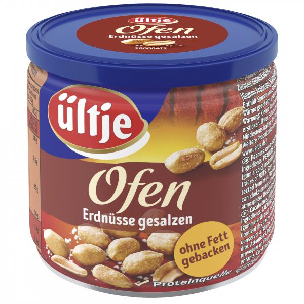 Ültje Ofen gebackene Erdnüsse gesalzen
