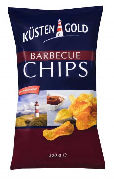 Küstengold Chips Barbecue