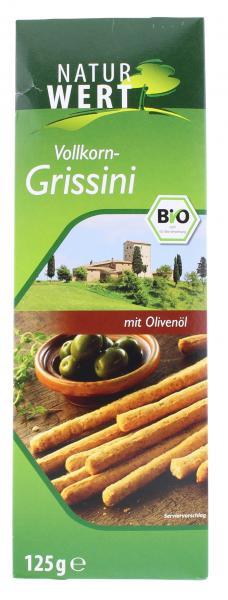 NaturWert Bio Vollkorn Grissini mit Olivenöl