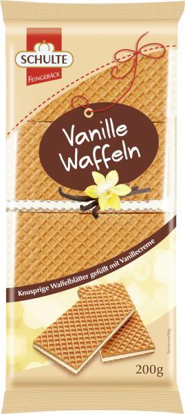 Schulte Feingebäck Vanille-Waffeln