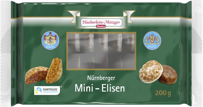 Haeberlein-Metzger Nürnberger Mini-Elisen-Lebkuchen
