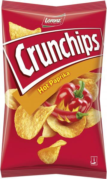 Lorenz Crunchips Hot Paprika