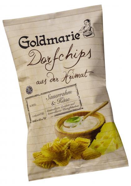 Goldmarie Dorfchips Sauerrahm & Käse