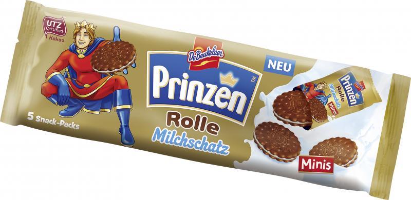 DeBeukelaer Prinzenrolle Milchschatz Minis