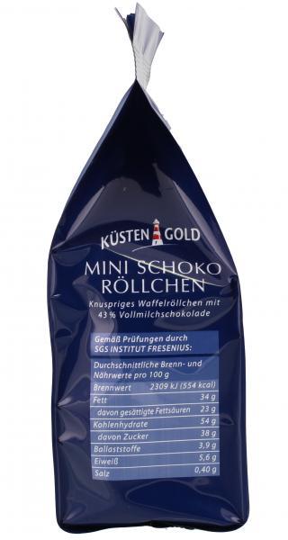 Küstengold Mini Schoko-Röllchen