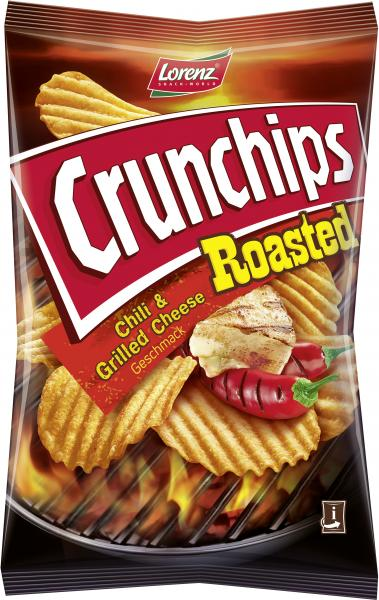 Lorenz Crunchips Roasted Chili & Grilled Cheese