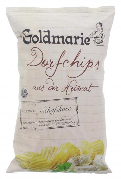 Goldmarie Dorfchips Schafskäse