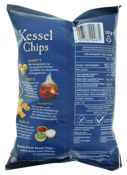 Funny-frisch Kessel Chips Sea Salt