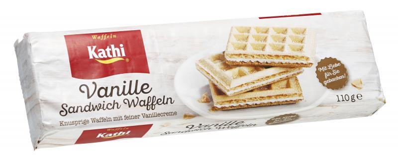 Aldente Sandwich Waffeln Vanille