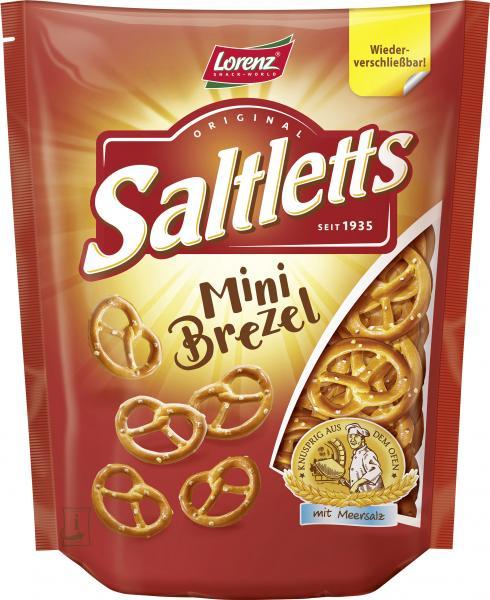 Lorenz Saltletts Mini Brezel mit Meersalz