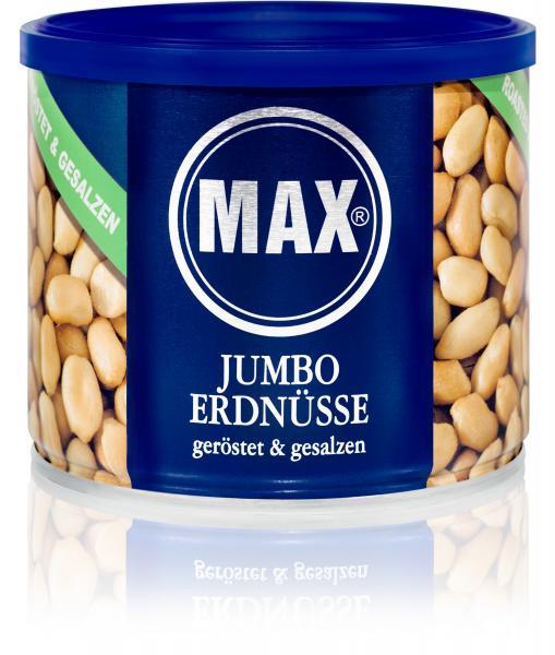 Max Jumbo Erdnüsse geröstet & gesalzen