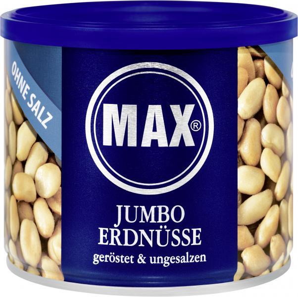 Max Jumbo Erdnüsse geröstet & ungesalzen